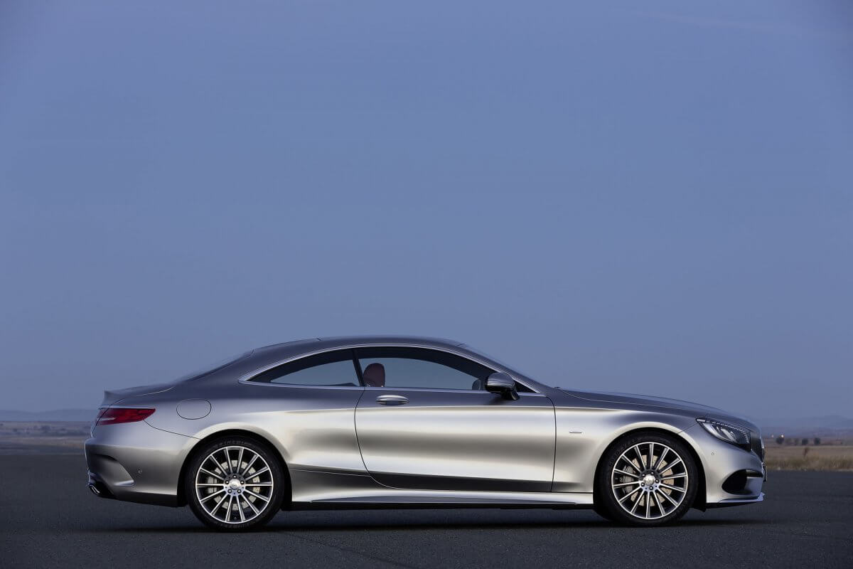 at 165 feet long the 2015 s class coupe is just gorgeous — Chkhorotsku,Ge