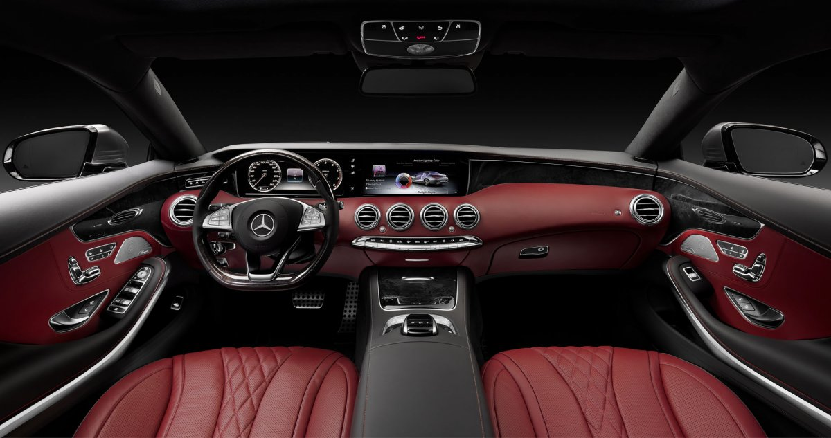 the standard air balance package keeps the s class smelling exactly how you want there are seven different lighting choices to match your mood as well — Chkhorotsku,Ge