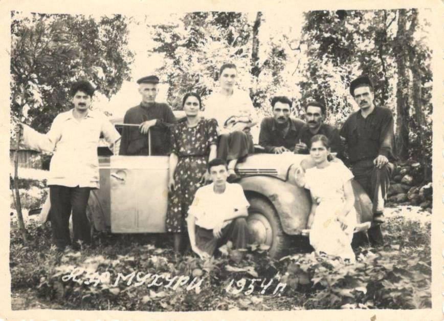1954 — Chkhorotsku,Ge